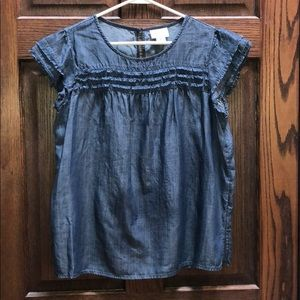 Liz Claiborne denim top